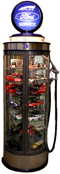 Gas Pump Display Cases